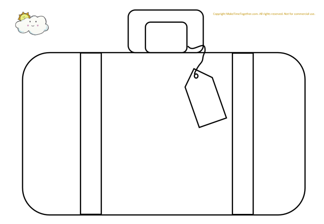 Free Printable Suitcase Packing Activity – Make Time Together